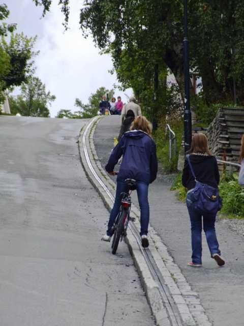 Fahrradlift In Trondheim 169 Christian Kneise