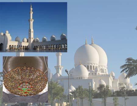 moschee abu dhabi führung