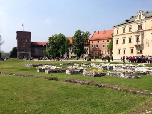Krakau Wawel - Burg