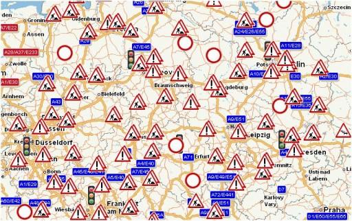 Maps ADAC